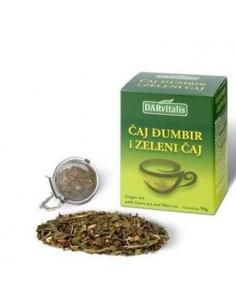 Darvitalis Čaj Đumbir i zeleni čaj