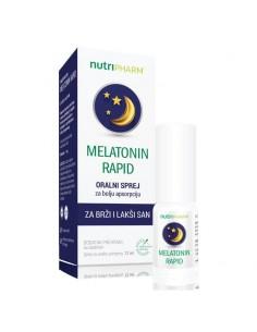 Nutripharm Melatonin Rapid Oralni sprej