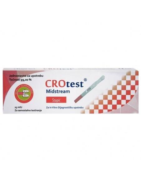Crotest HCG-Cassette Test za trudnoću