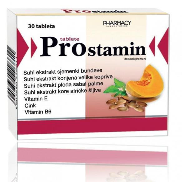 Pharmacy Laboratories Prostamin tablete