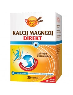 Natural Wealth Kalcij Magnezij Direkt