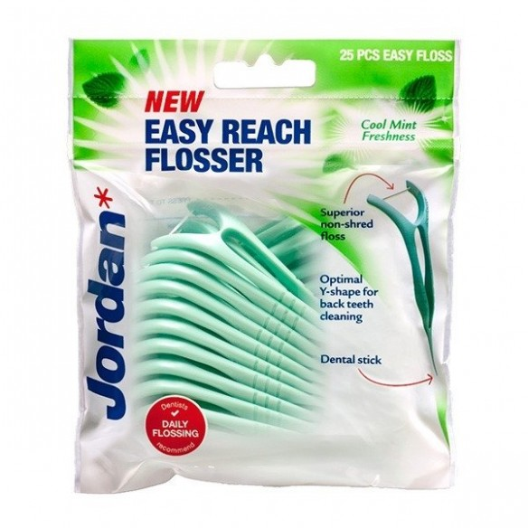 Jordan Easy Reach Flossers konac za zube na držaču