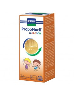 HerbikoPropomucil tekući dodatak prehrani s medom za djecu
