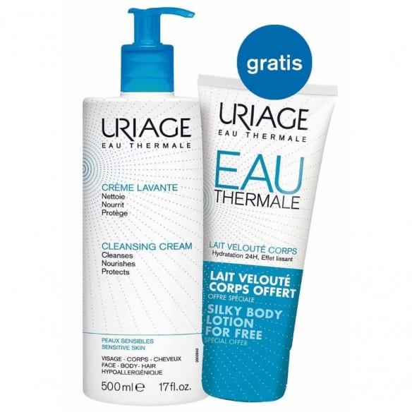 Uriage Creme Lavante pjenušava emulzija za pranje + Losion za tijelo GRATIS
