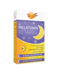 Natural Wealth Melatonin Retard tablete