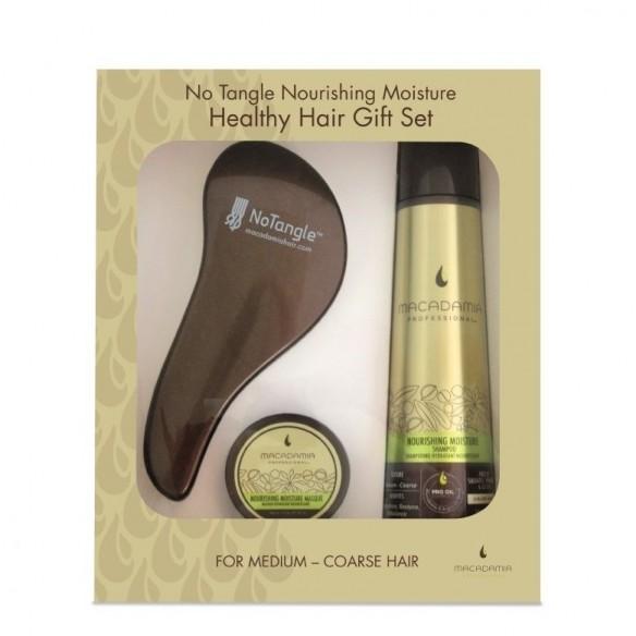 Macadamia No Tangle Nourishing Moisture Healthy Hair Gift Set
