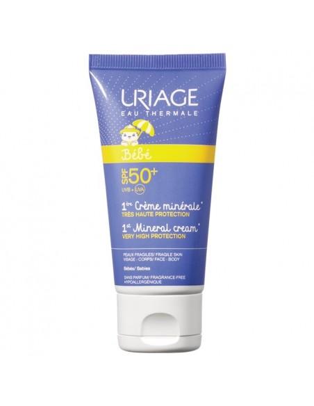 Uriage Baby Prva Mineralna krema SPF 50+