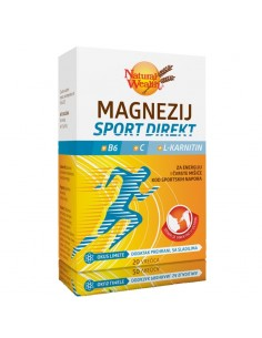NAtural Wealth Magnezij Sport direkt