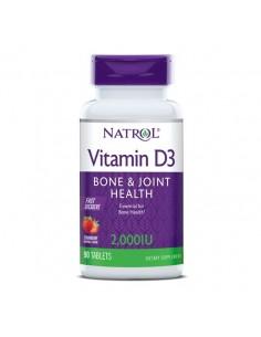 Natrol Vitamin D3 2000 IU Fast Dissolve tablete