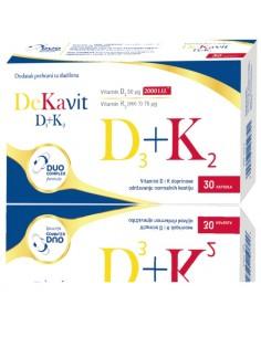 Dekavit D3 + K2 kapsule