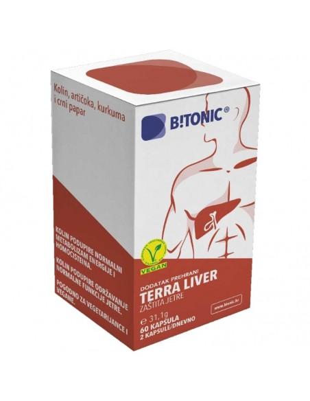 Btonic Terra Liver kapsule
