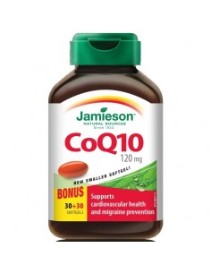 Jamieson CoQ10 120 mg kapsule