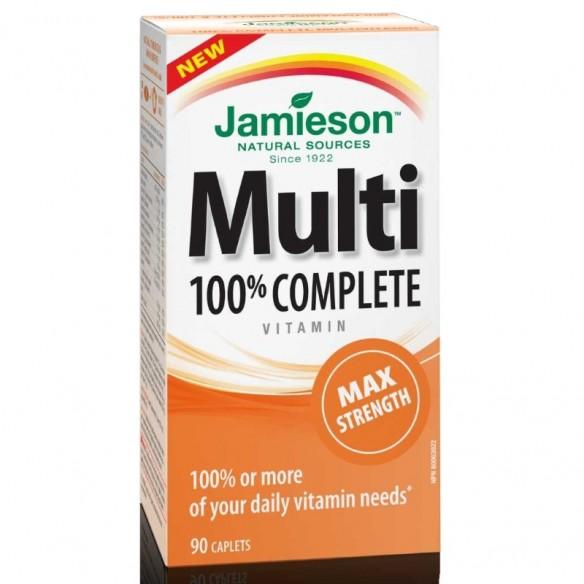 Jamieson Multivitamini i minerali MAX tablete