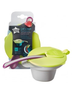 Tommee Tippee Cool and Mash Zdjelica s poklopcem i žličicom