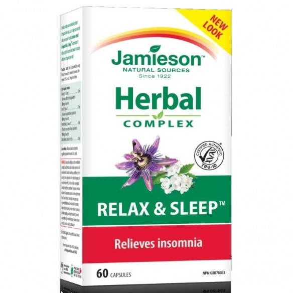 Jamieson Herbal Complex Relax and Sleep
