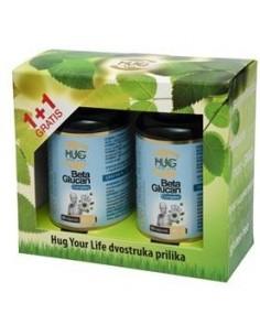 Hug Your Life Beta Glucan & C3 Complex kapsule 1+1GRATIS
