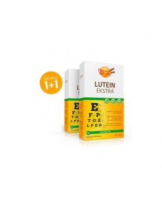 Natural Wealth Lutein ekstra kapsula 1+1 GRATIS