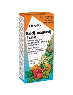 Floradix Kalcij Magnezij i Cink Mineralni tonik