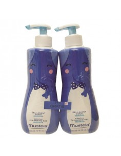 Mustela Dermatološki gel za pranje novorođenčadi 1+1 GRATIS