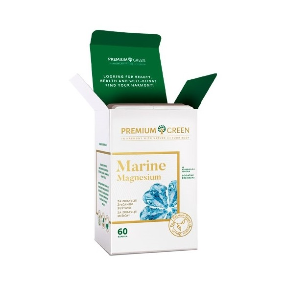 Premium Green Marine Magnesium kapsule