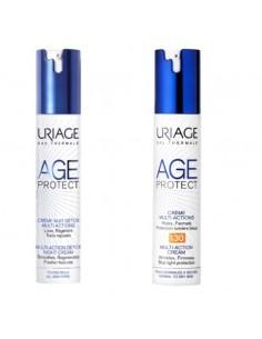 Uriage Age Protect Multi action Detox Noćna Krema