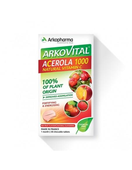 Arkopharma Arkovital Acerola 1000 tablete za žvakanje