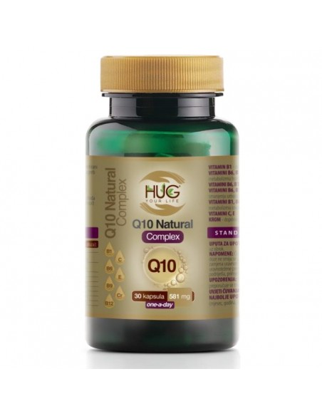 Hug your Life Q10 Natural Complex kapsule