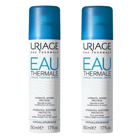 Uriage Termalna voda 50 ml 1+1 GRATIS