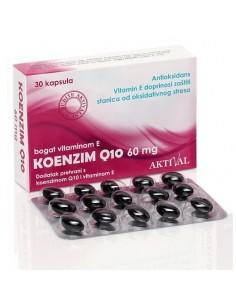 Aktival Koenzim Q10 60 mg + E vitamin