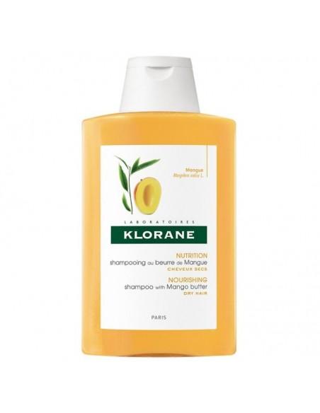 Klorane Mango maslac šampon za suhu kosu