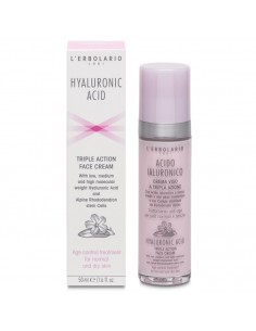 Lerbolario Acido Ialuronico krema za lice za normalnu/suhu kožu
