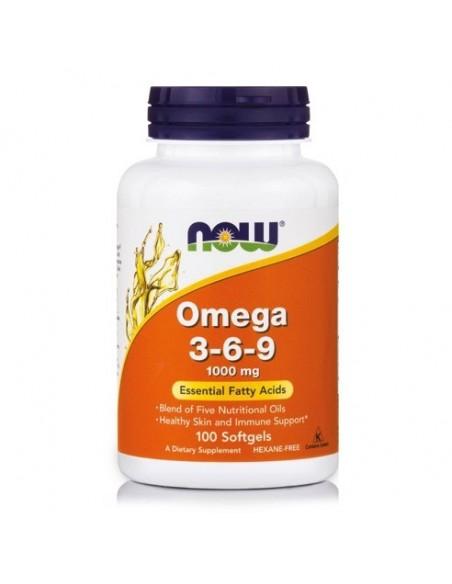 Now foods Omega 3-6-9- kapsule
