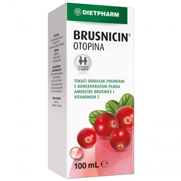 Dietpharm Brusnicin tekući dodatak prehrani