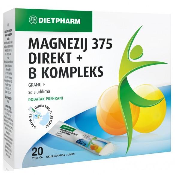 Dietpharm Magnezij direkt + B kompleks