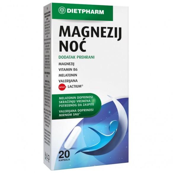 Dietpharm Magnezij Noć kapsule