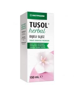 Dietpharm Tusol Herbal Bijeli sljez tekući dodatak prehrani