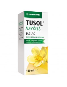 Dietpharm Tusol Herbal Jaglac tekući dodatak prehrani