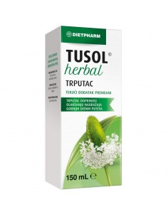 Dietpharm Tusol Herbal Trputac tekući dodatak prehrani