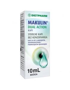 Dietpharm Makulin Dual Action Kapi za oči