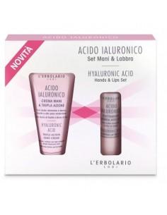 Lerbolario Acido Ialuronico Krema za ruke i Tretman za usne KIT