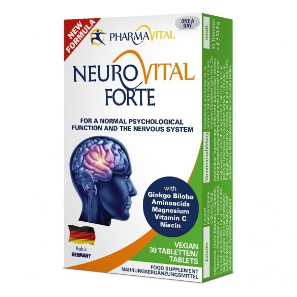 PharmaVital Neurovital Forte tablete