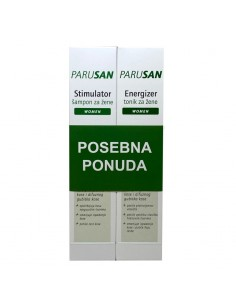 Parusan Stimulirajući šampon + tonik protiv ispadanja kose za žene