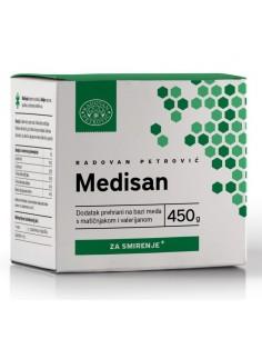 Radovan Petrović Med s matičnjakom i valerijanom za smirenje – Medisan