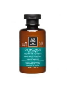 Apivita Oil balance shampoo with peppermint & propolis