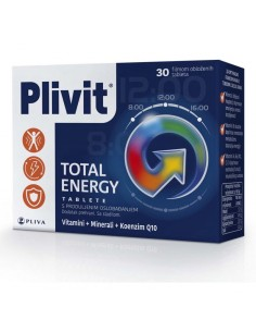 Plivit Total Energy tablete