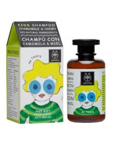 Apivita Kids Shampoo chamomile & honey