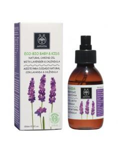 Apivita ECO-BIO Baby & Kids natural caring oil with lavander & calendula