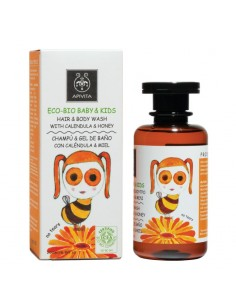 Apivita ECO-BIO Baby & Kids Hair and Body Wash with calendula & honey