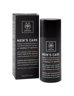 Apivita Man's care Anti Wrinkle anti-fatigue face and eye cream