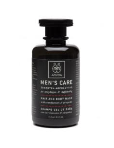 Apivita Man's care Hair and Body Wash with Cardamom and propolis